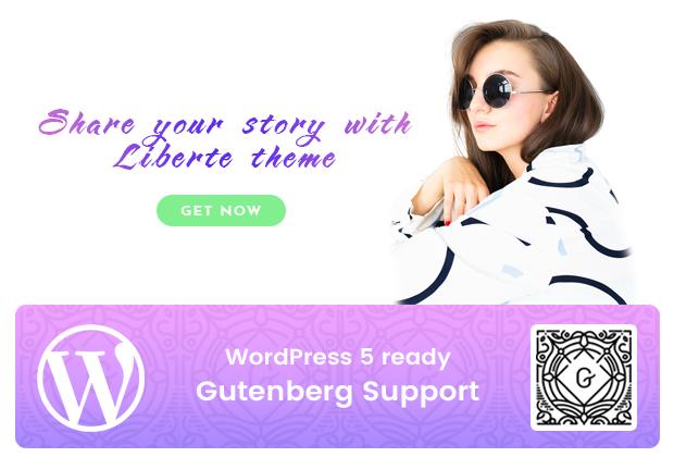 Liberte - Modern Magazine WordPress Theme - 3
